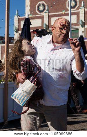 Asbury Park Zombie Walk 2015