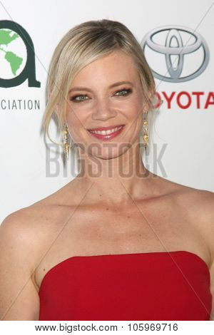 LOS ANGELES - OCT 24:  Amy Smart at the Environmental Media Awards 2015 at the Warner Brothers Studio Lot on October 24, 2015 in Burbank, CA