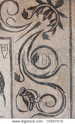 Mosaico romano antiguo