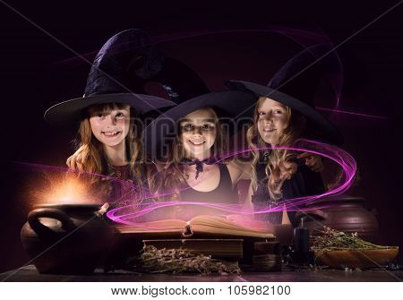 Three little witches