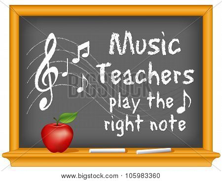 Music Teachers Play The Right Note