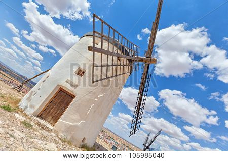 One Of Famous Consuegra Windmills