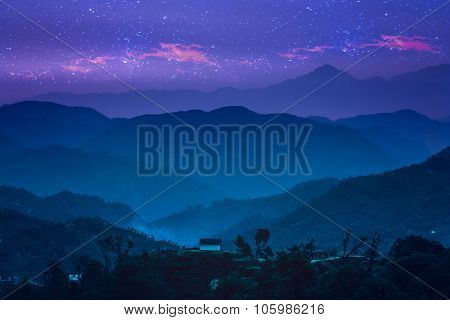 Himalayan nightscape