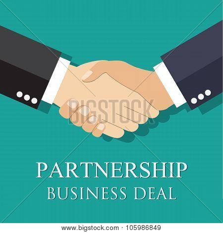 handshake businessman agreement.