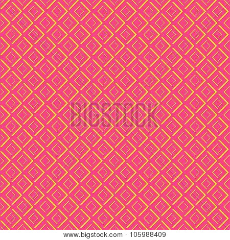 Abstract geometric diamond shape seamless pattern