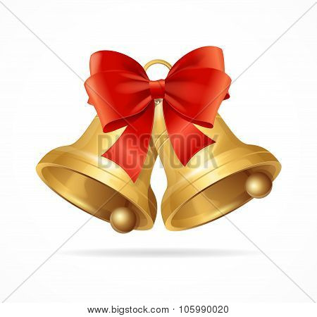 Christmas Bell. Vector