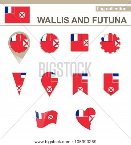 Wallis And Futuna Flag Collection