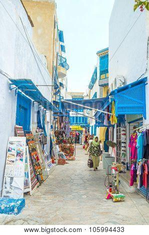 Market In Medina