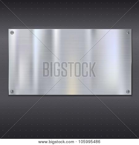 Metal texture plate