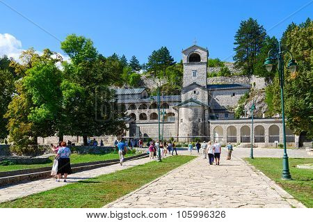 Orthodox Monastery Of The Nativity Of The Blessed Virgin Mary, Cetinje, Montenegro