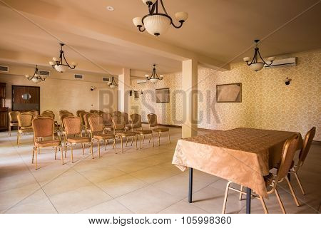 Spacious Interior For Business Conference
