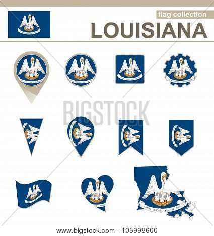 Louisiana Flag Collection