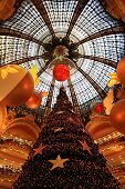 Christmas At Galeries Lafayette