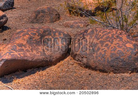 Ancient Arizona Indian Petroglyphs