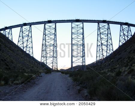 El Polvorillo Viaduct, San Antonio De Los Cobres, Salta, Argentina