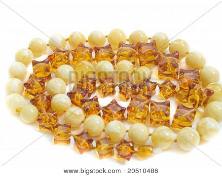 amber jewels necklace