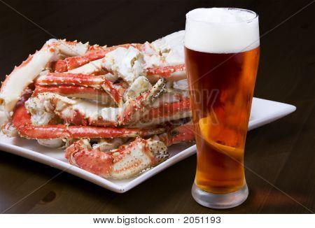 Beine Krabbe