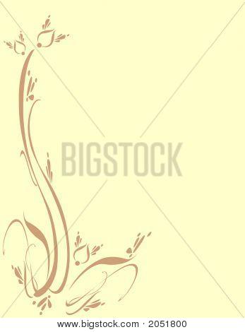 Floral Foliage Leaf Ornamental Art