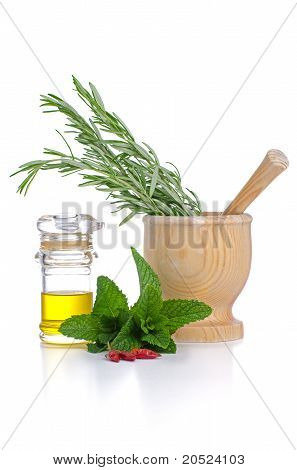 Ingredients And Spice For Food Cooking