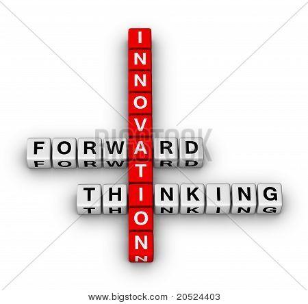 Vorwärts denken Innovation