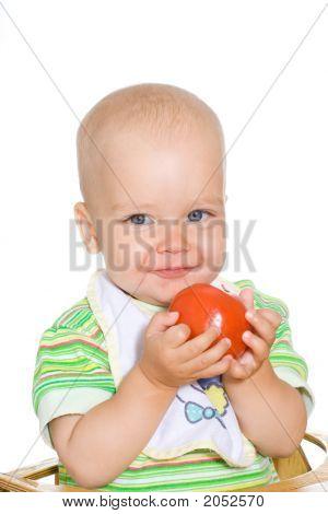 Child With Tomato