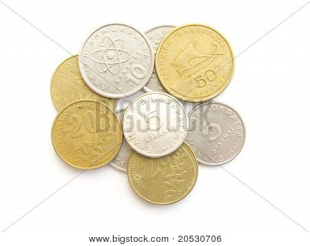 Greek Drachma Coins