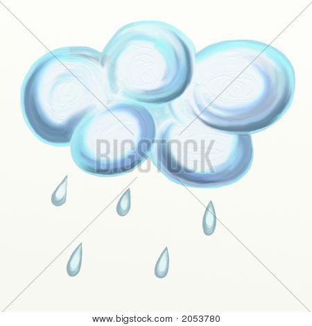 Nube de lluvia