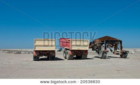 Sand Trucks