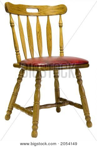 Oak Dinette Chair