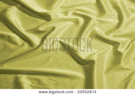 silk dyed yellow