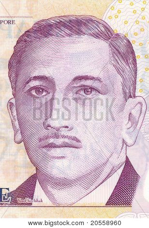 First President Of Singapore Yusof Bin Ishak