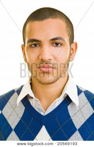 Man With Serious Look