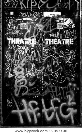 Theatre Dramatic Door