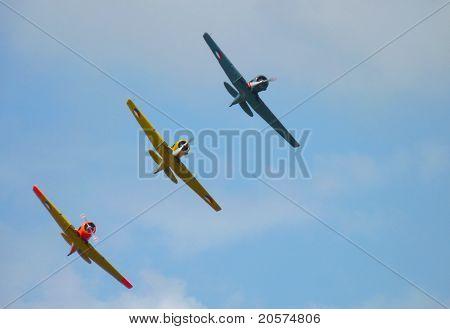 Netherlands Airforce Noorduyn AT-6 Harvard