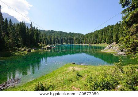 Lake Carezza - Dolomites, Italy