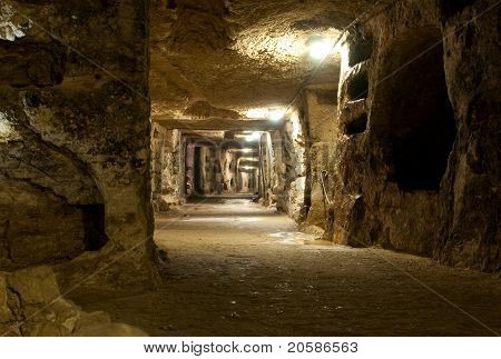 Old catacombs of Saint Giovanni