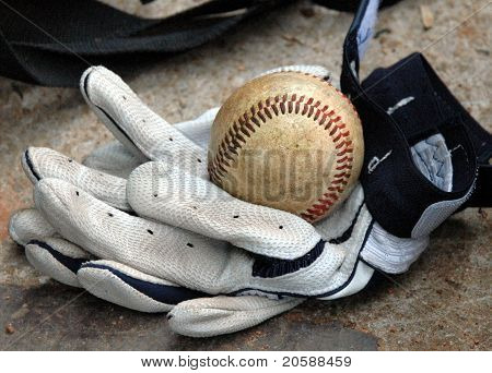 Ball In Gloves