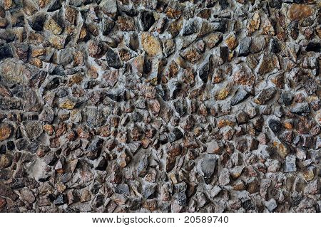 Horizontal background with old stones wall