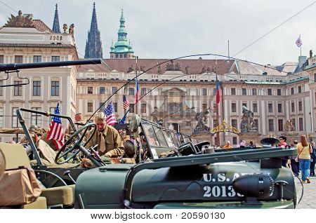 American Jeeps And Veterans