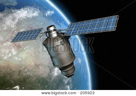Satellite And Earth 4