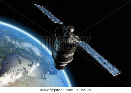 Satellite And Earth 5
