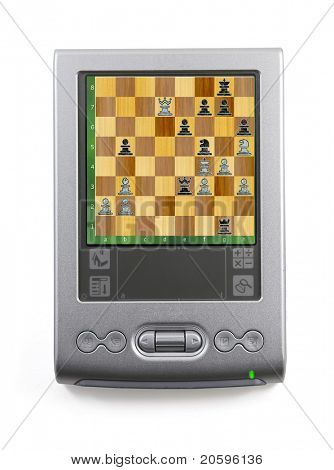 chess game on pda