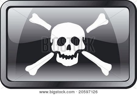 Pirate Flag Icon