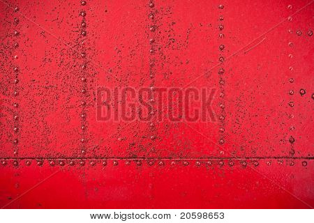 Highly detailed textured red grunge clincher background.