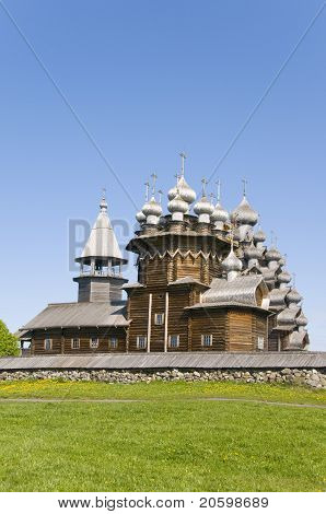 Kizhi island on north of Russia