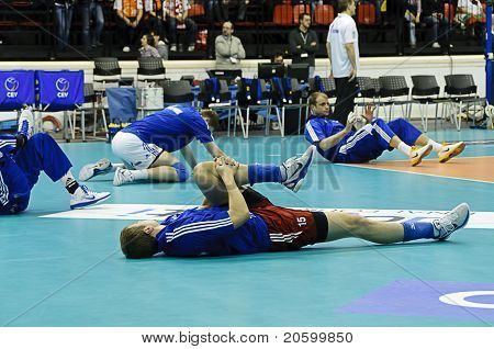 Cev Volley Champions League 2010/2011 Final Four - Final Match: Trentino Betclic Vs Zenit Kazan