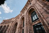Historical architecture Yerevan Armenia. horizontal day shot