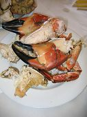 Large Cooked Crab Claws poster