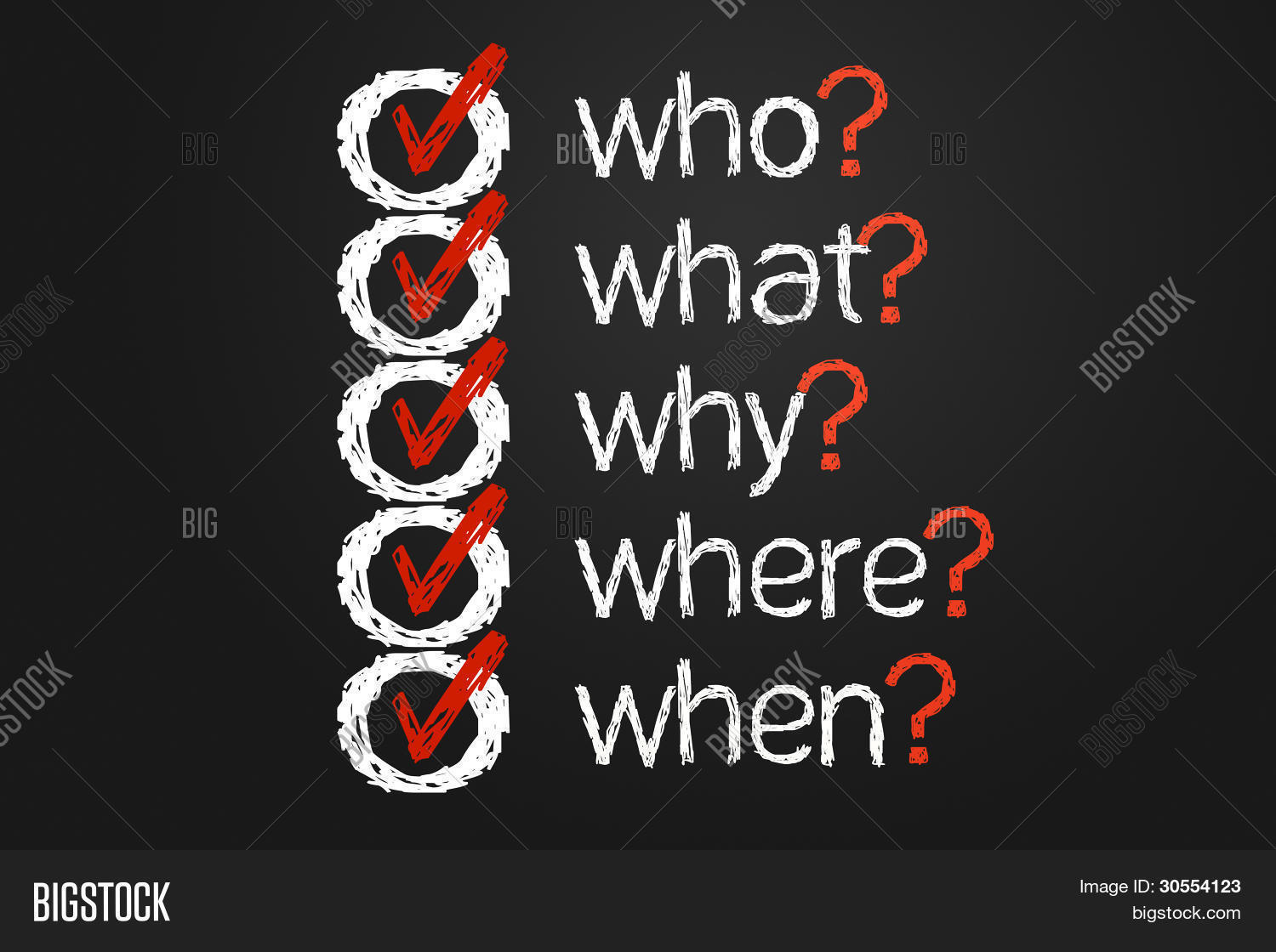 question list stock photo stock images bigstock question list