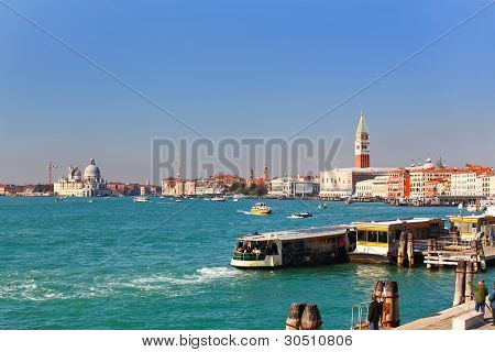 Beautiful View On Grand Canal, Venice